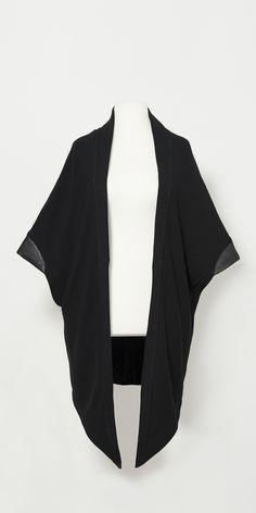 #lesDArcs #wing #shawl #autumn #winter #collection #unisex #leather #elegant #knit #fashion #berlin