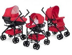 Chicco trio Sprint red passion-crveni (kolica+autosedište+nosiljka)