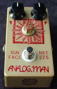Analogman NKT275 Sun Face Fuzz Pedal