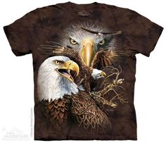 The Mountain Eagle T-shirt | Find 14 Eagles, New 2014 Adult T-shirts from The Mountain, 103792