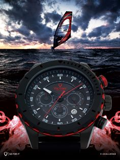 Reloj deportivo de lujo para hombres. Hecho pensando en deportistas.