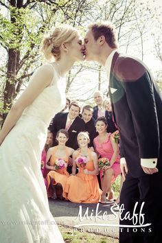 include de bridesmaids and groomsmen in your photo