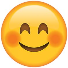 When a compliment sets your cheeks on fire, you can show you're blushing in a cute way with this emoji. Smiley Emoji, Smiley Emoticon, Smiley Face Images, Emoji Images, Emoji Pictures, Emoji Stickers, Face Stickers, Smileys, Emojis Png