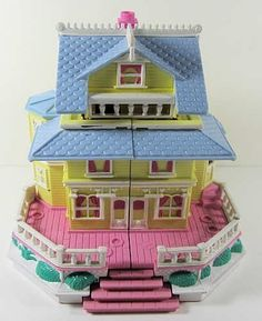 Polly Pockets. Unbelievably nostalgic.