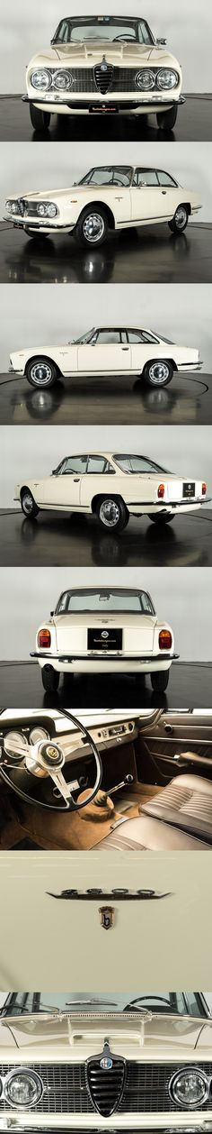1962 Alfa Romeo 2600 Sprint / Ruote da Sogo / white / Italy / Bertone / 17-406