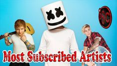 Most Subscribed Artists on Youtube  No 5 Music Charts, Thankful, Make It Yourself, Artists, History, Youtube, Top, Historia, Youtubers