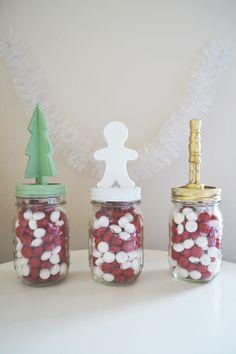 #diy holiday mason jars ::: urban nester//