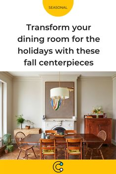 Give your dining room a little fall flair for your next holiday gathering with these bouquets and arrangements. #flowers #floral #centerpiece #entertaining #autumn #thanksgiving #christmas #holidays #seasonal #gourds #hosting #hostess #dinner