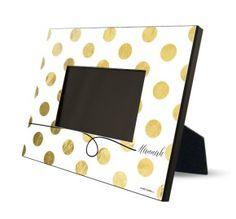 Das perfekte #Ostergeschenk! Ein Foto im gestaltbaren bilderrahmen goldpailletten