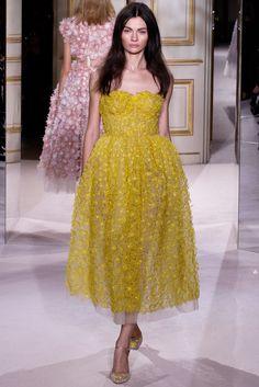 Giambattista Valli Spring 2013 Couture Fashion Show - Antonina Vasylchenko