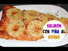 Salmon con piña al horno | Cocinando con Ros Emely