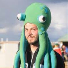 Octopus hat!! For silly hat day