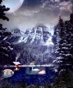 For a white and chic Christmas at home - HomeCNB Merry Christmas Gif, Merry Christmas Pictures, Christmas Scenery, Christmas Text, Christmas Feeling, Christmas Music, Beautiful Christmas Pictures, Christmas Wonderland, Medan