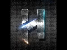 ▶ Tutorial: Metallic text and flares photoshop | HAD3Sdesigns tutorial - YouTube