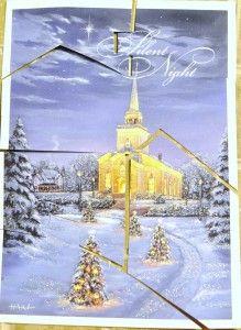 Christmas Card Puzzle - Busy Bag Idea