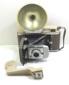 Vintage Polaroid Land Camera Model # With Flash and Extension Arm Vintage Polaroid, Vintage Items, Arm, Best Deals, Store, Outfit, Model, Ebay, Outfits
