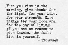 Thankful every day