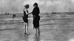 Before the Bikini: Rare Vintage Beach Photos - weather.com  Very glad I live in 2013 and not 1913...