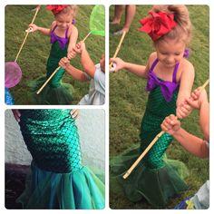 MERMAID STAR little mermaid dress mermaid dress by MTBGBOUTIQUE