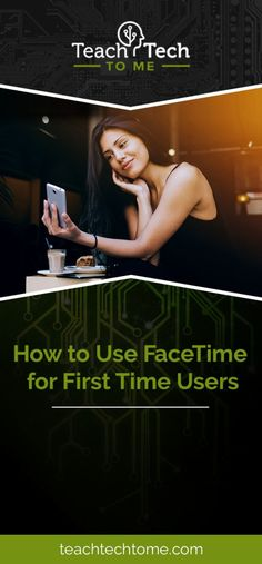 How to Use FaceTime for First Time Users | FaceTime is one of the most useful apps on iPhones and iPads. Here's how you can use it! | https://teachtechtome.com/how-to-use-facetime/?utm_source=pin