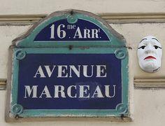 L'avenue Marceau  (Paris 8e/16e)