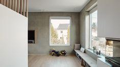 Enebolig Bestumveien | wood arkitektur+design Divider, Wood, Furniture, Design, Home Decor, Decoration Home, Woodwind Instrument, Room Decor, Timber Wood