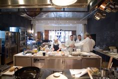 Classes at the Bouley Test Kitchen -88 West Broadway, TriBeCa, NYC /Photo: Thomas Schauer