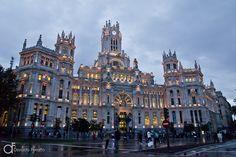 Palácio das Comunicações, Madri, Espanha - Arquitetura e lugares | Osvaldo Furiatto Fotografia e Design