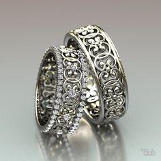 Виды парных обручальных колец. Самые лучшие обручальные кольца мира