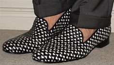 Without Prejudice pants, Fluevog woven leather loafers… #Gotstyle #Shopgotstyle…