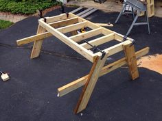 How to Build a DIY Picnic Table