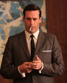 """The new hairstyle I'm rocking. No joke. Asked my hairstylist for the """"mad men."""" I'm digging it."""