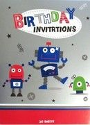 Robot Invitations $2.95