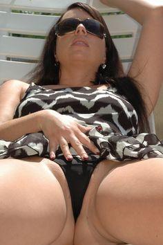 Sexy sunbathing