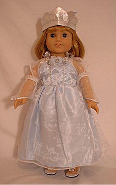 Doll clothes Cinderella Costume Dress fits American Girl McKenna Caroline Molly | eBay