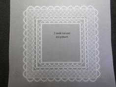 Perforating Semi Circle Step by Step 2 needle tool Parchment Cards, Grid Design, Card Patterns, Hobbies And Crafts, Card Making, Paper Crafts, How To Make, Handmade, Folk