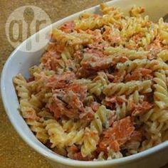 Salmon Macaroni Cheese @ allrecipes.co.uk