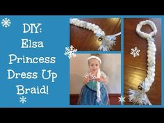 ▶ DIY: Elsa Frozen Princess Dress Up Braid!! - YouTube