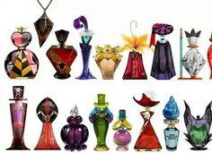perfume bottles inspired by evil villians. Very cool.