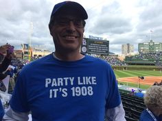 Cubs look to clinch a playoff series at Wrigley for the first time ever. 1908 T-Shirt #Cubs #NLDS