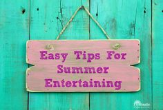 Easy Tips For Summer