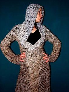 crocheted coats