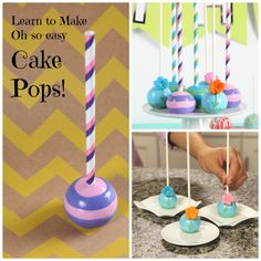 Make the best cake pops on the block! Learn a collection of dazzling decorating techniques in a free mini-class and deliver perfect treats customized for any celebration.