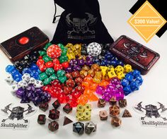 Help me win this awesome contest from SkullSplitter Dice!