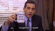 <b>For seven seasons, Michael Scott led <i>The Office</i> proudly, inappropriately and without common sense.</b> Here are 82 reasons why Michael Scott was the World's Best Boss.