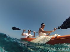 Caribbean Beach weddings, Roatan Island, Honduras, trash the dress underwater photos