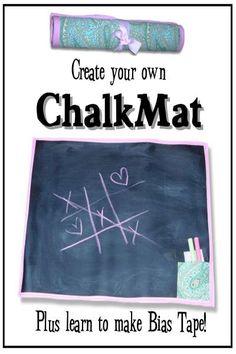 Chalk mat pattern