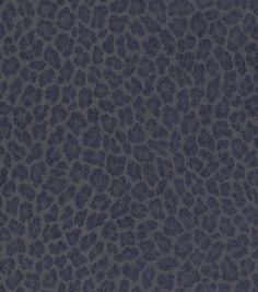 Dark Leopard Vinyl Wallcovering