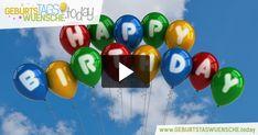Schöne und lustige Geburtstagsvideos