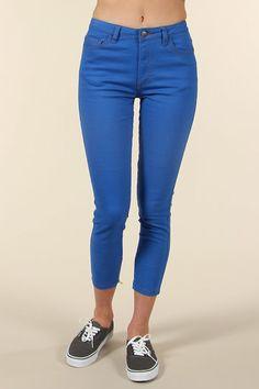 Pow! Electric blue Lower jeans